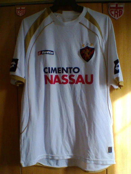 maglie sport recife 2009 replica seconda divisa